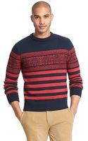 Tommy Hilfiger Fair Isle Stripe Sweater - Lyst