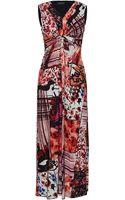 James Lakeland Maxi Print Dress - Lyst