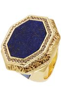 House Of Harlow Octagon Statement Ring - Lyst