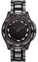 Karl Lagerfeld Unisex Gunmetal Ionplated Stainless Steel Bracelet Watch 44mm - Lyst