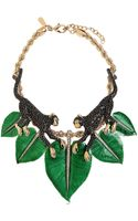 Roberto Cavalli Monkey Necklace with Swarovski Crystals - Lyst