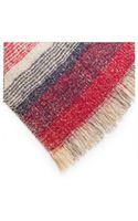 Mango Tricolor Striped Scarf - Lyst