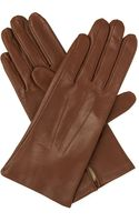 Dents Hand-sewn Silk-lined Leather Gloves  - Lyst