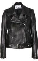 Acne Studios Mape Leather Jacket - Lyst