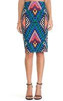 Mara Hoffman High Waisted Pencil Skirt - Lyst