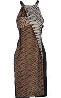 Roland Mouret Kneelength Dress - Lyst