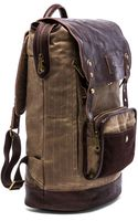 Will Leather Goods The Frontier Backpack - Lyst
