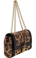 Dolce & Gabbana Leopardpattern Shoulder Bag - Lyst