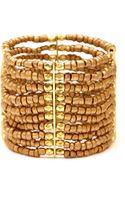 Forever 21 Beaded Boho Stretch Bracelet - Lyst