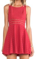 Free People Daisy Waist Dress - Lyst