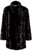 Yves Salomon Mink Coat - Lyst