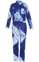 Lemlem Tie-dye Cotton Jumpsuit - Lyst