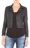 Ag Adriano Goldschmied The Coated Biker Jacket - Lyst