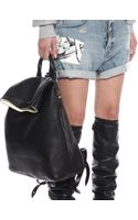 McQ by Alexander McQueen Leather Backpack - Lyst