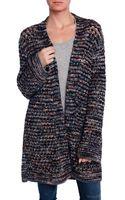 Missoni Chunky Knit Cardigan - Lyst