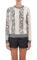 Opening Ceremony Frond-intarsia Sweater - Lyst