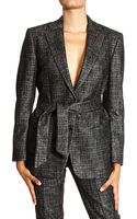 Mauro Grifoni Jackets Wool Double Changing Long with Belt - Lyst