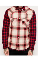 Diesel Double Layer Check Shirt - Lyst
