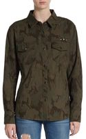 Rails Erin Camo Shirt Jacket - Lyst