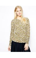 YMC Sweater in Leopard Knit - Lyst