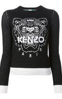 Kenzo Tiger Sweater - Lyst
