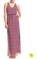 Banana Republic Factory Georgette Maxi Dress - Lyst