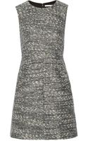 Diane Von Furstenberg Carpreena Tweed Mini Dress - Lyst
