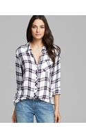 Rails Shirt One Pocket Plaid - Lyst