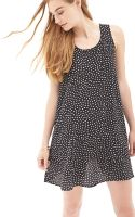Forever 21 Polka Dot Shift Dress - Lyst