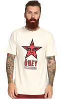 Obey Star 96 Basic Tee - Lyst