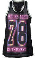 Philipp Plein 78 Mesh Tank Top - Lyst