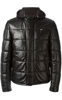 Ermenegildo Zegna Padded Hooded Jacket - Lyst