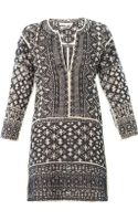Etoile Isabel Marant Bloom Filetcrochet Dress - Lyst