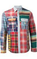 Ralph Lauren Patchwork Shirt - Lyst
