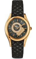 Ferragamo Lirica Gold Ion Plated Stainless Steel Watch 33mm - Lyst