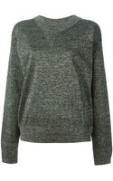 Isabel Marant Glitter Sweater - Lyst