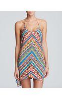 Trina Turk Peruvian Stripe Short Dress Swim Cover Up - Lyst