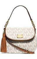 MICHAEL Michael Kors Jet Set Medium Convertible Shoulder Bag with Tassel - Lyst