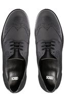 Asos Millionaire Leather Brogues - Lyst