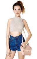 Nasty Gal Lost For You Top - Lyst