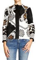 Etro Jackets Silk Blend Wool with Fantasy Jaquard - Lyst