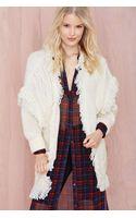 Nasty Gal Glamorous Estelle Knit Cardigan - Lyst
