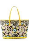 Oryany St Tropez Mosaic-print Coated Canvas Tote Bag - Lyst