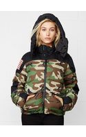 Denim & Supply Ralph Lauren Camo Down Jacket - Lyst