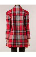 Vivienne Westwood Red Label Tartan Coat - Lyst