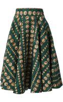 Dolce & Gabbana Printed Skirt - Lyst