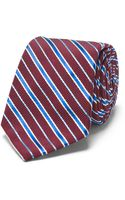 Club Monaco Striped Tie - Lyst