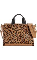 French Connection Cosmic Haircalf Tote - Lyst