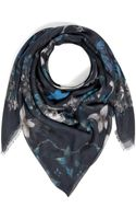 Zadig & Voltaire Floral Print Viscose Scarf - Lyst