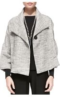 Eileen Fisher 34sleeve Aline Jacket - Lyst